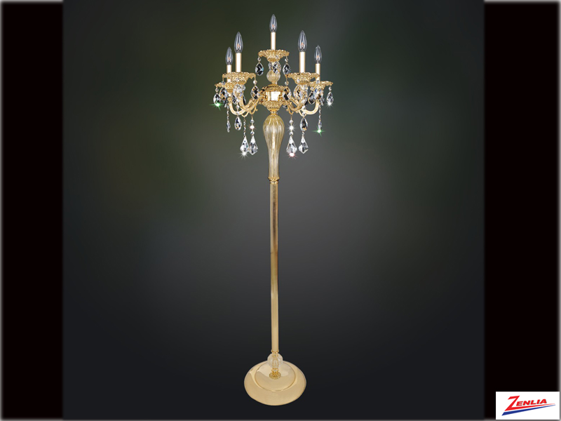 Viva 6 Light Floor Lamp