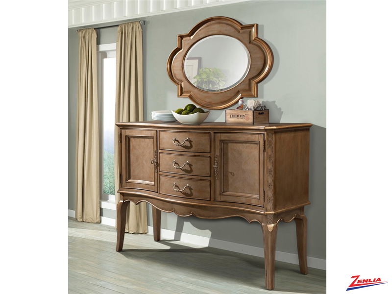 1828 Sideboard & Mirror