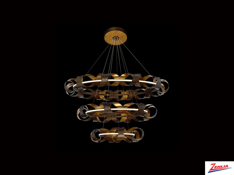 Bander Three-tier Led Chandelier
