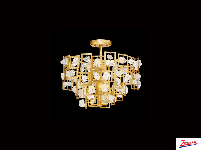 Elro 6 Light Semi Flush Mount