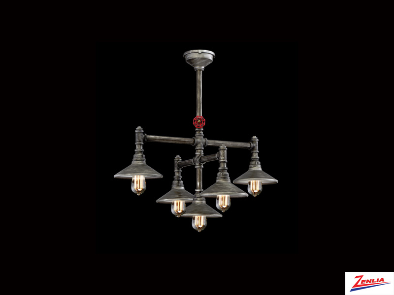 Zin 5 Light Chandelier