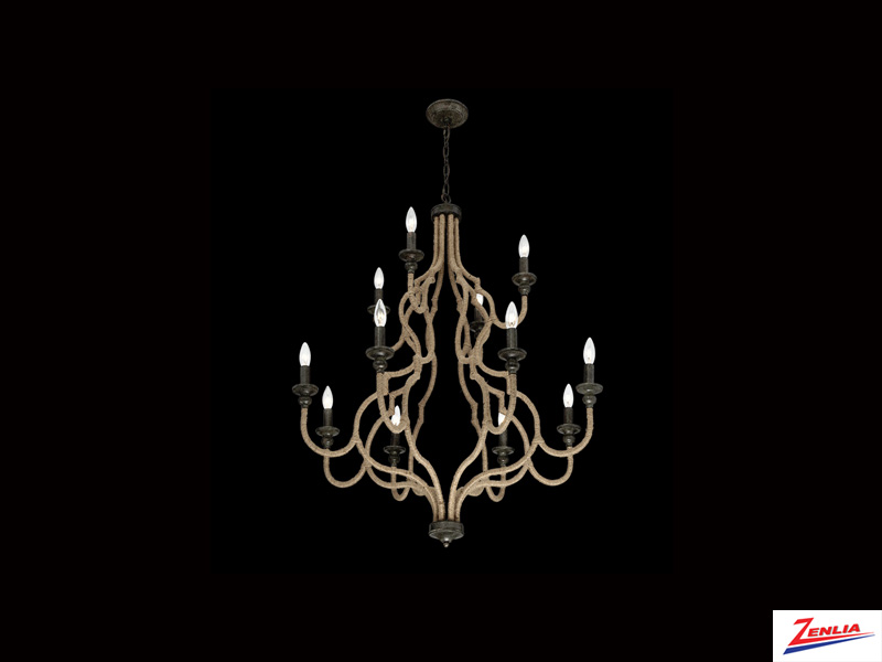 Cord 12 Light Chandelier