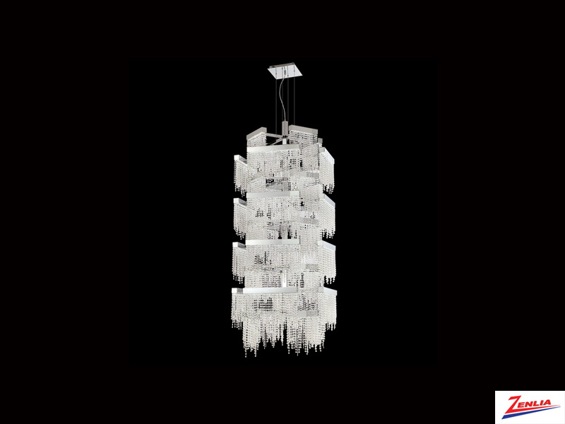 Ros 36 Light Multi Tier Led Chandelier