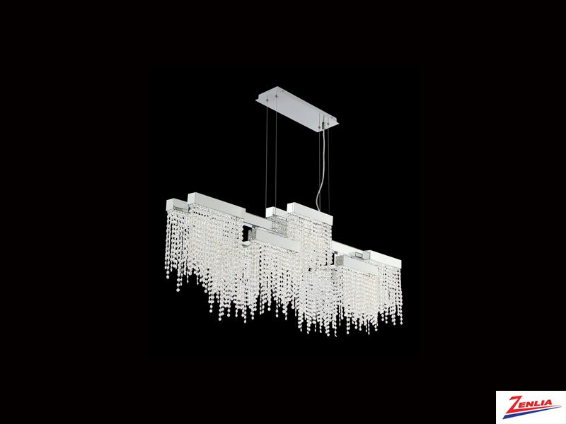 Ros 10 Light Linear Led Chandelier