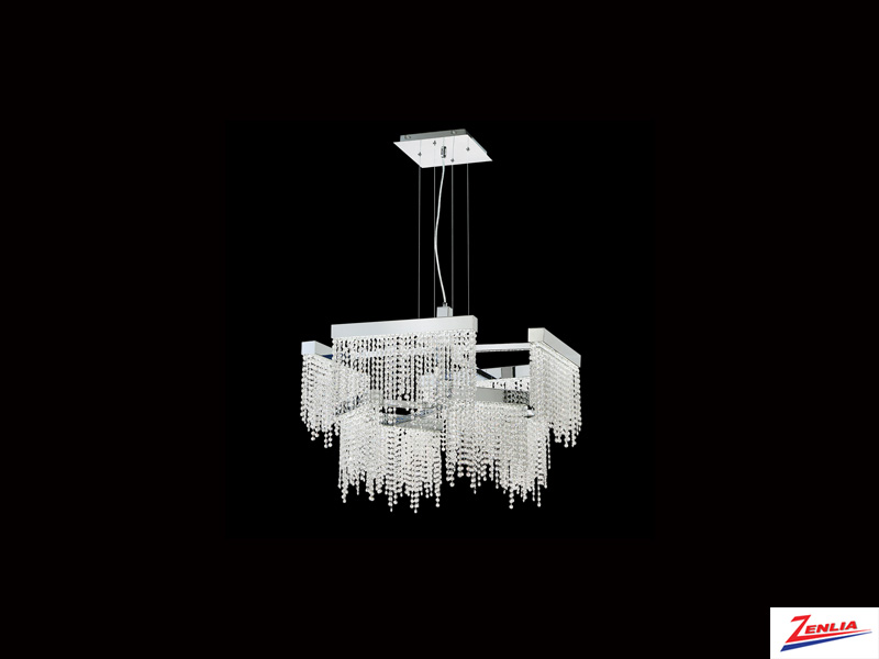 Ros 8 Light Large Led Chandelier