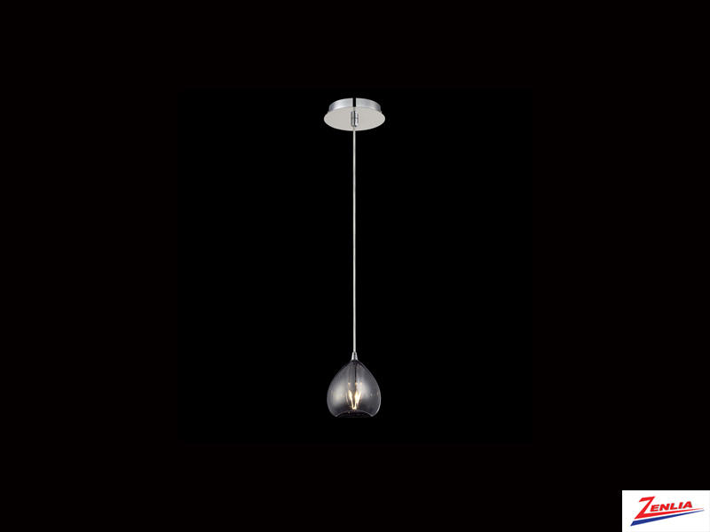 Luci 1 Light Pendant Smoke
