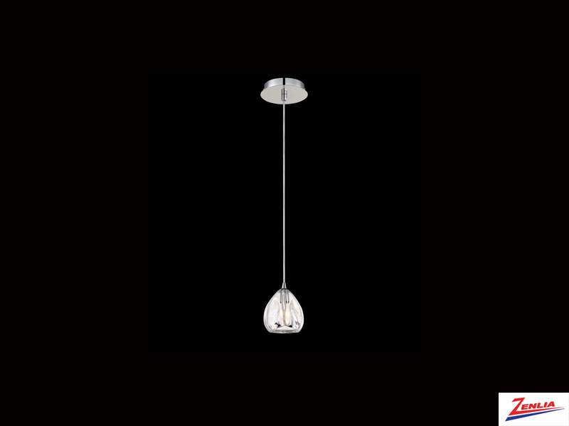 Luci 1 Light Pendant Clear