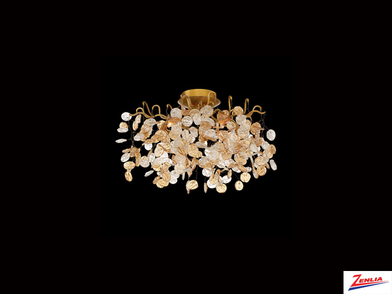 Campo 5 Light Flush Mount