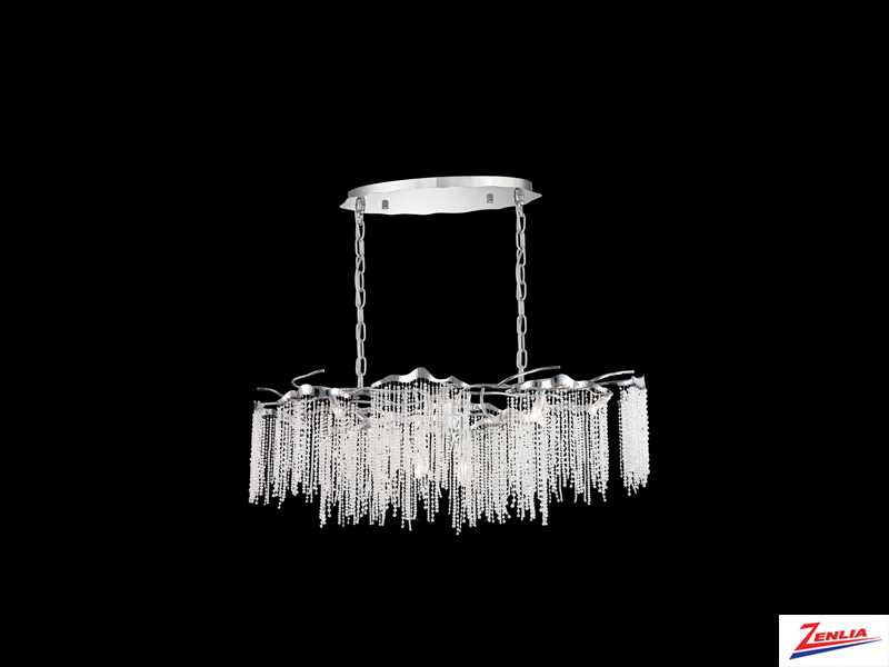 Art 12 Light Linear Chandelier