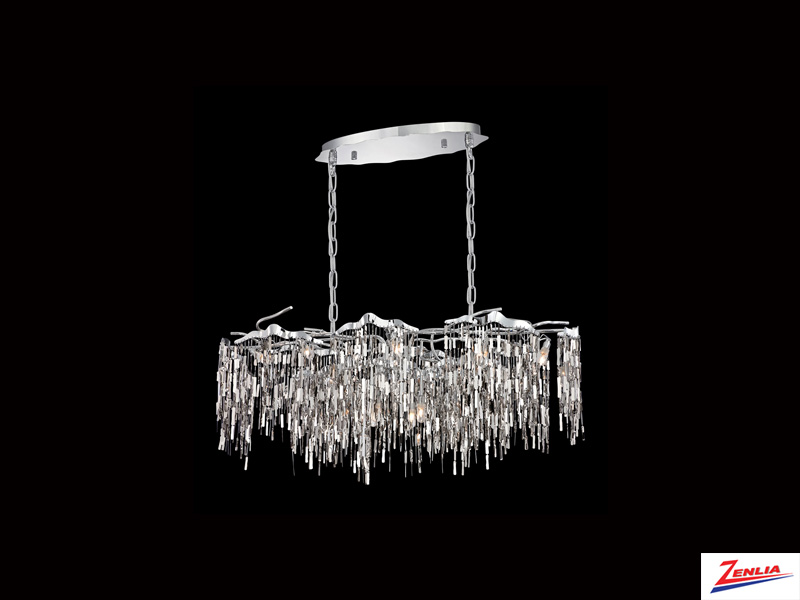 Elfa 12 Light Linear Chandelier