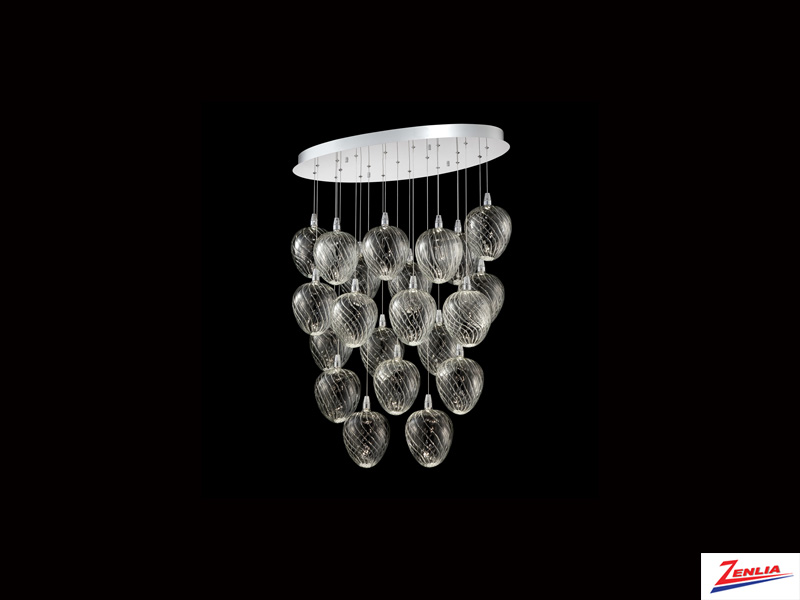 Mac 21 Light Led Chandelier