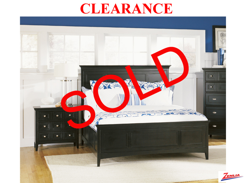 Clearance Queen Bed With 1 Night Table