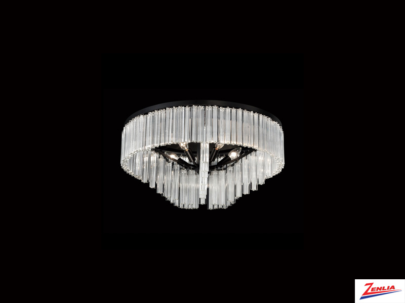 Zicca 5 Light Semi Flush Mount