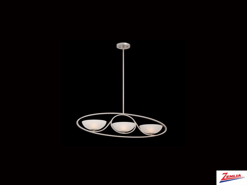 Carlu 3 Light Linear Chandelier