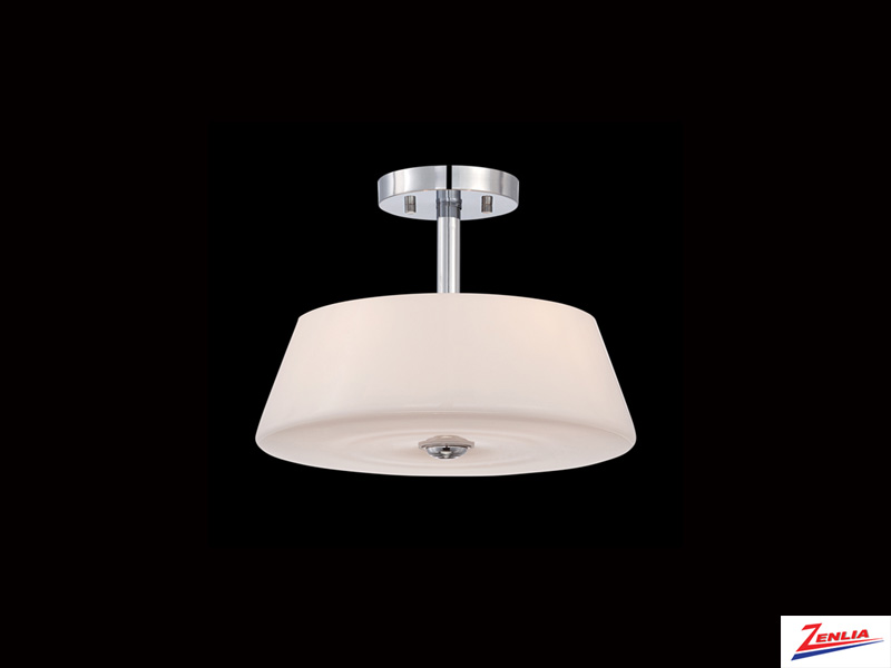 Enz 3 Light Semi Flush Mount