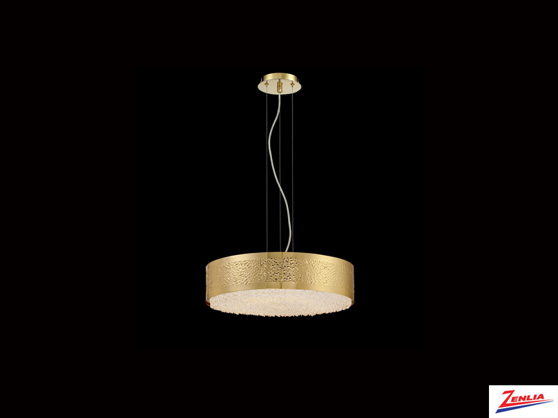 Cara 6 Light Chandelier Gold