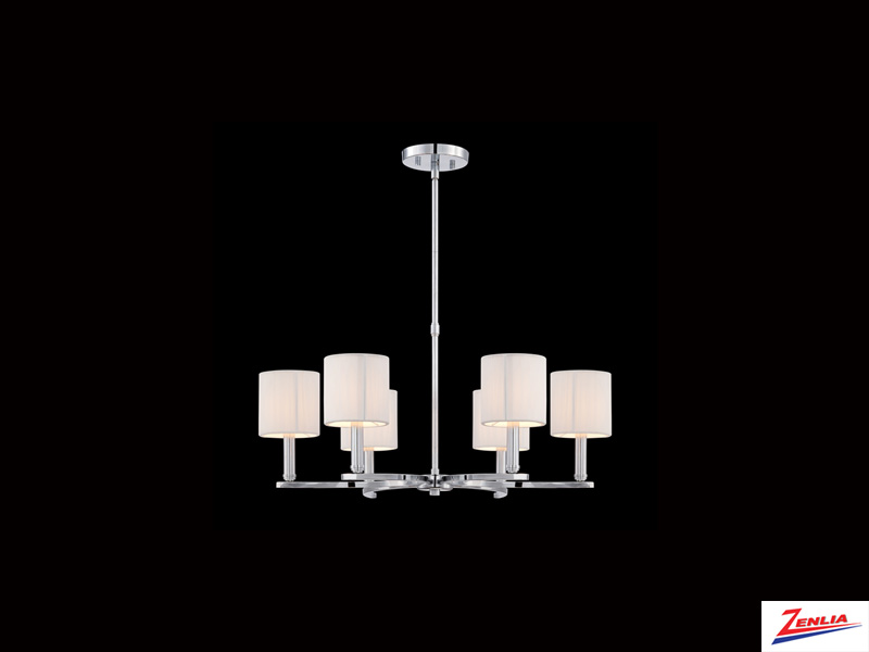 Kenn 6 Light Chandelier