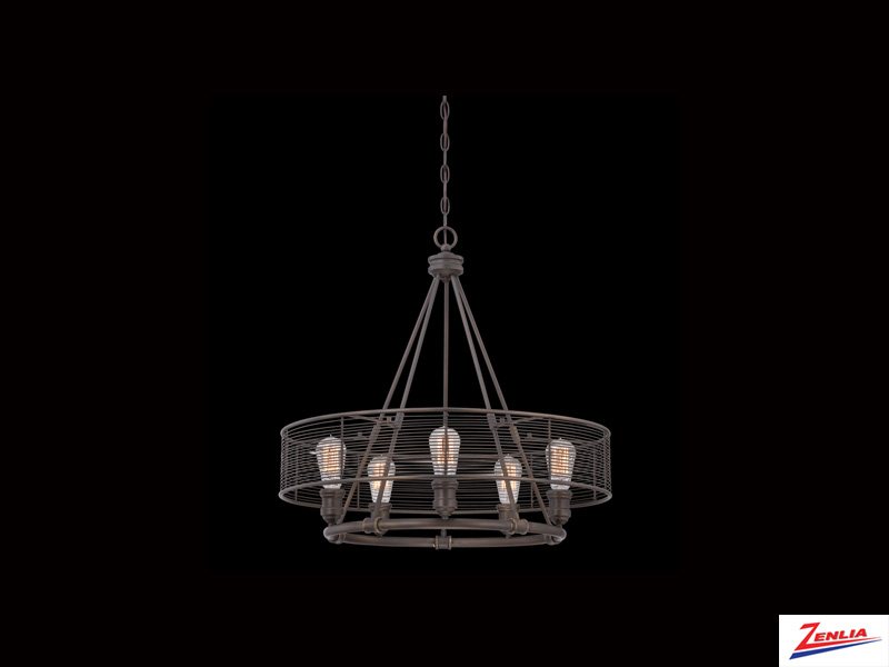 Terr 5 Light Chandelier