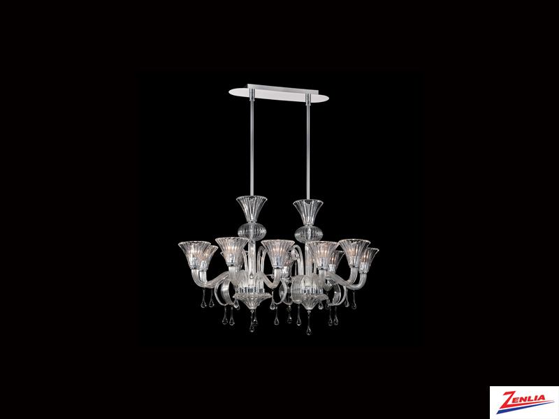 Glori 10 Light Chandelier