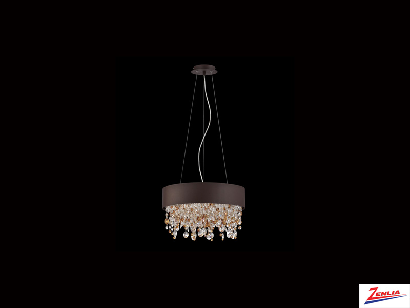 Roman 4 Light Chandelier Bronze