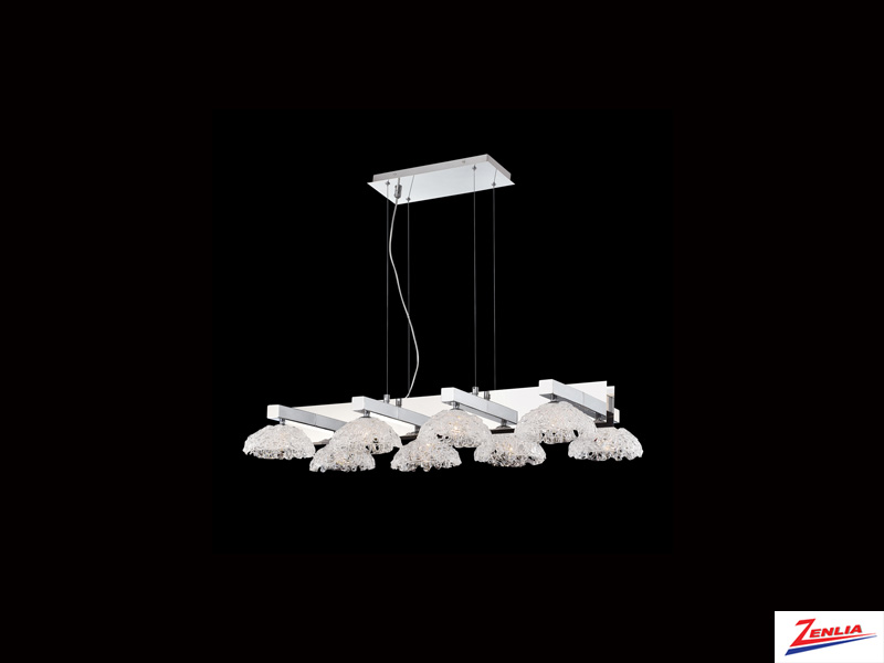 Caram 8 Light Chandelier