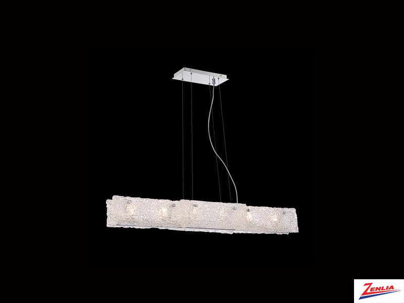 Caram 6 Light Linear Pendant
