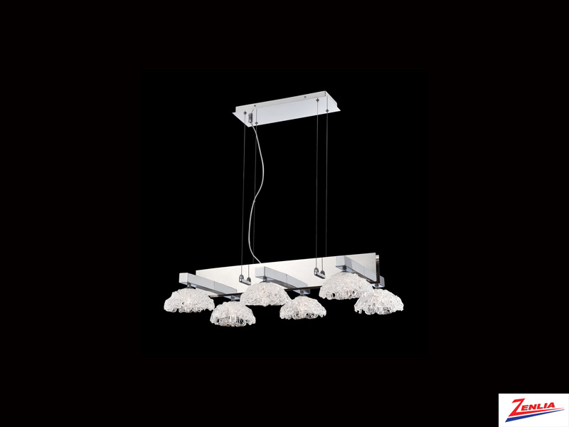 Caram 6 Light Chandelier