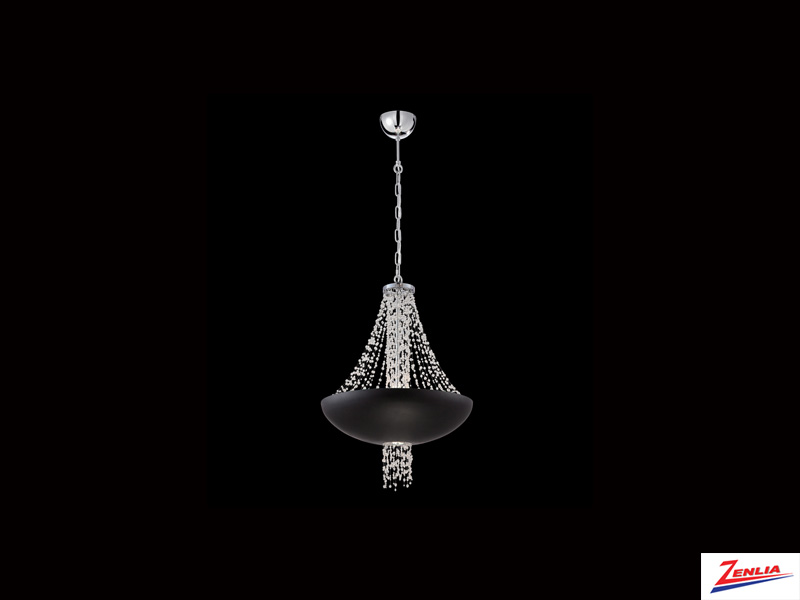 Lope 9 Light Pendant Black