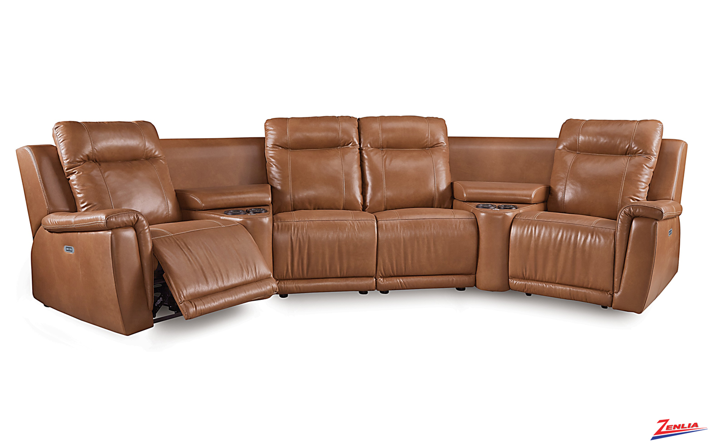 Ril Sectional Sofa With Power Headrest