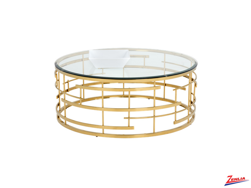 Ciel Glass Coffee Table
