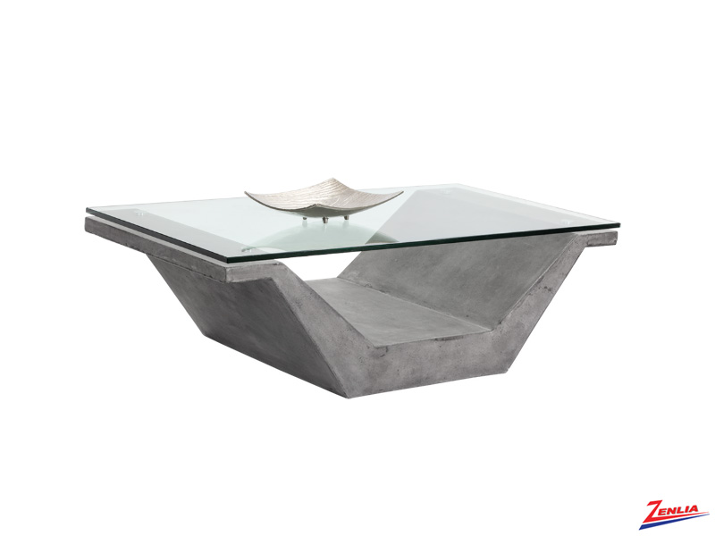 Jasp Glass Coffee Table