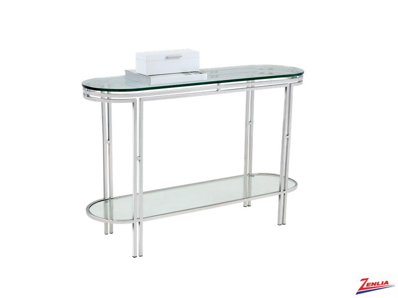 Andro Glass Console Table