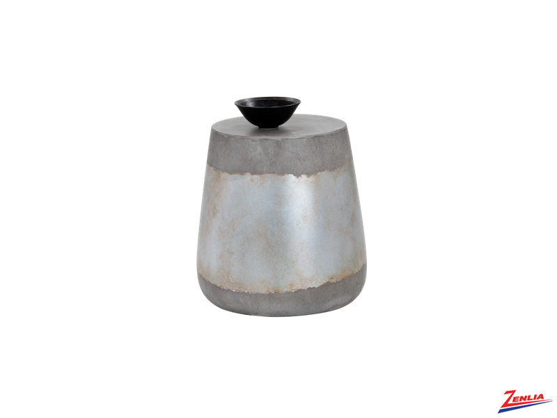 Arie Concrete End Table
