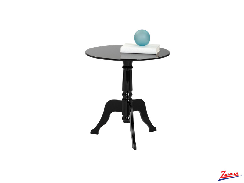 Cassa Black End Table