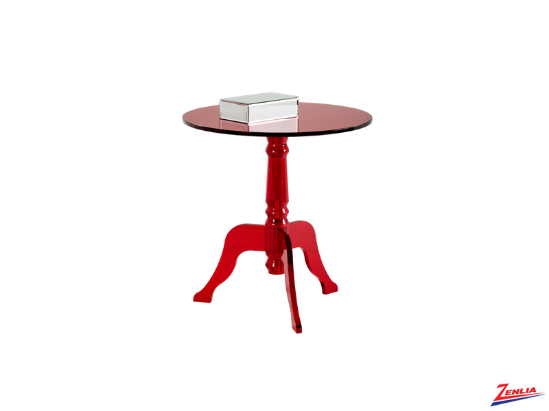 Cassa Red End Table