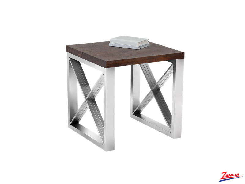 Cata Wood End Table