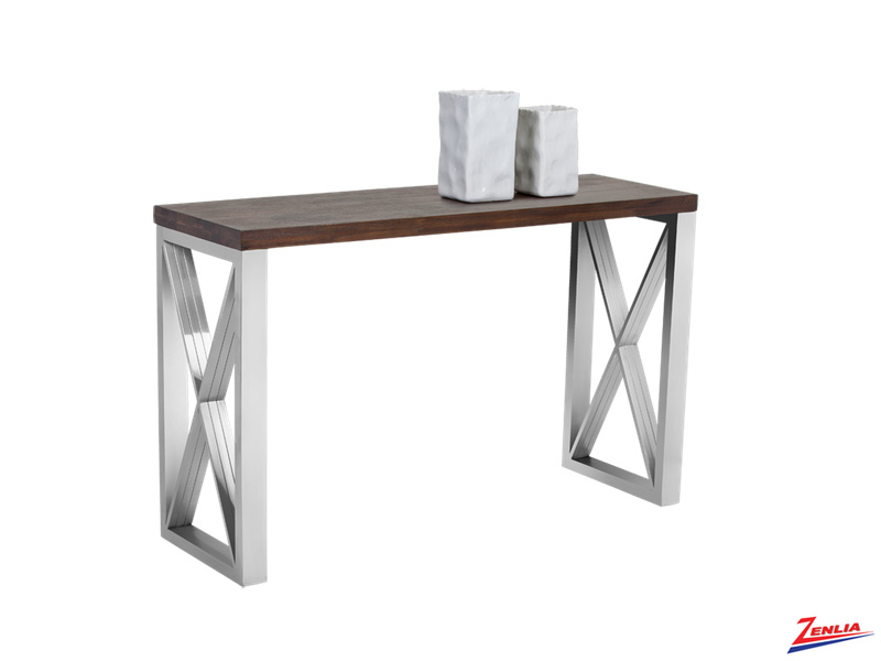 Cata Wood Console Table