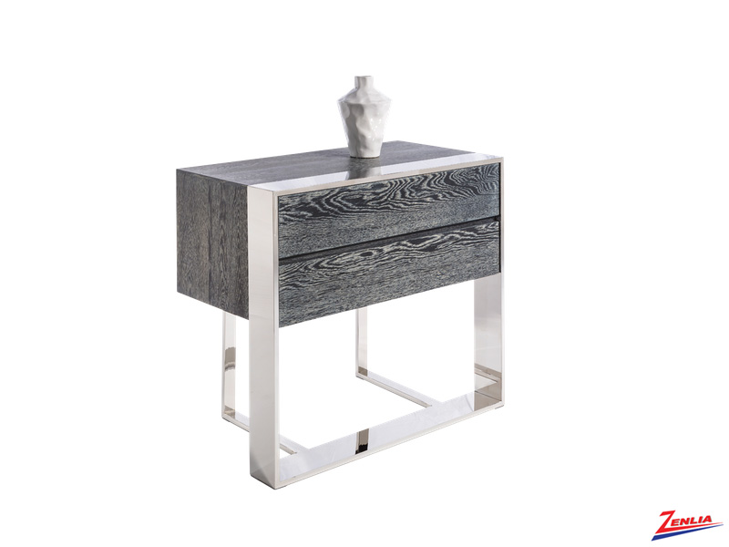 Dalt End Table Grey