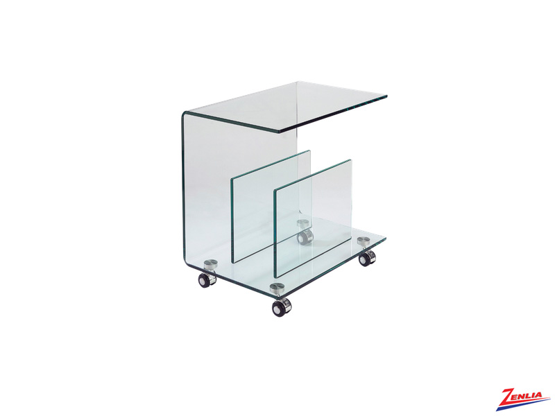 Dop Glass End Table