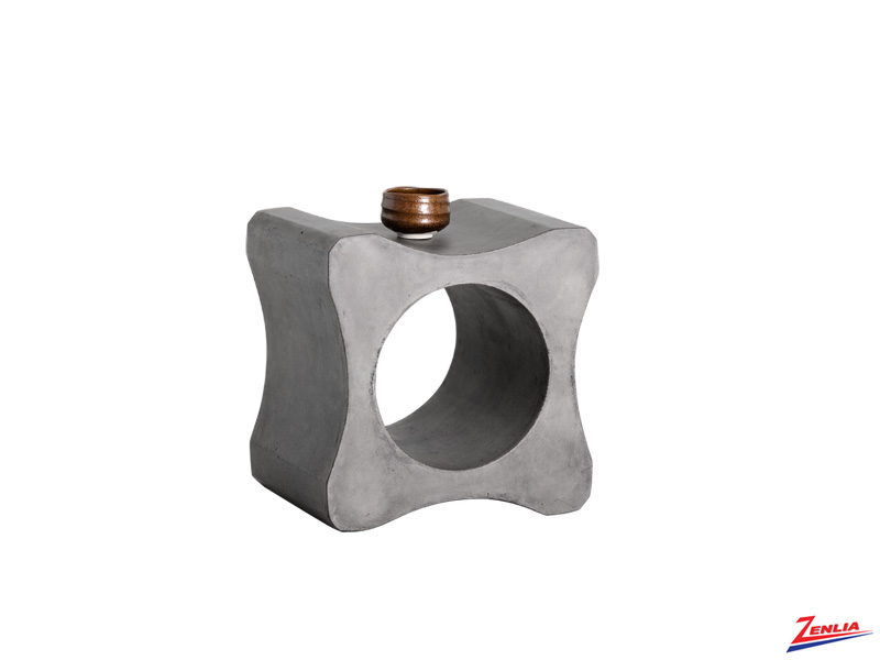 Gam Concrete End Table