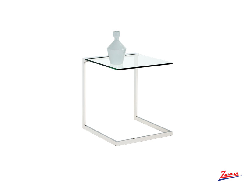 Leigh Glass End Table