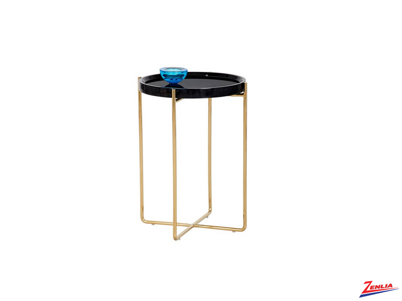 Li Marble End Table