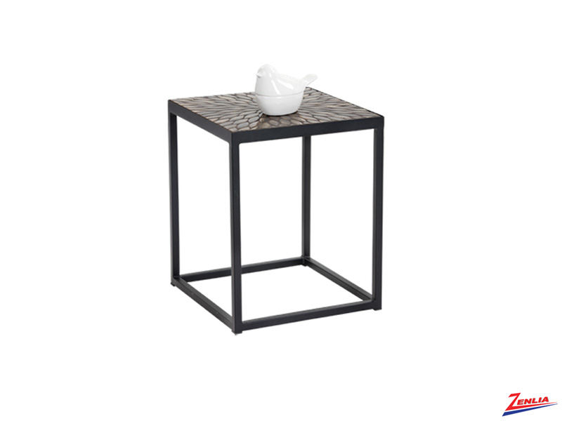 May Wood End Table