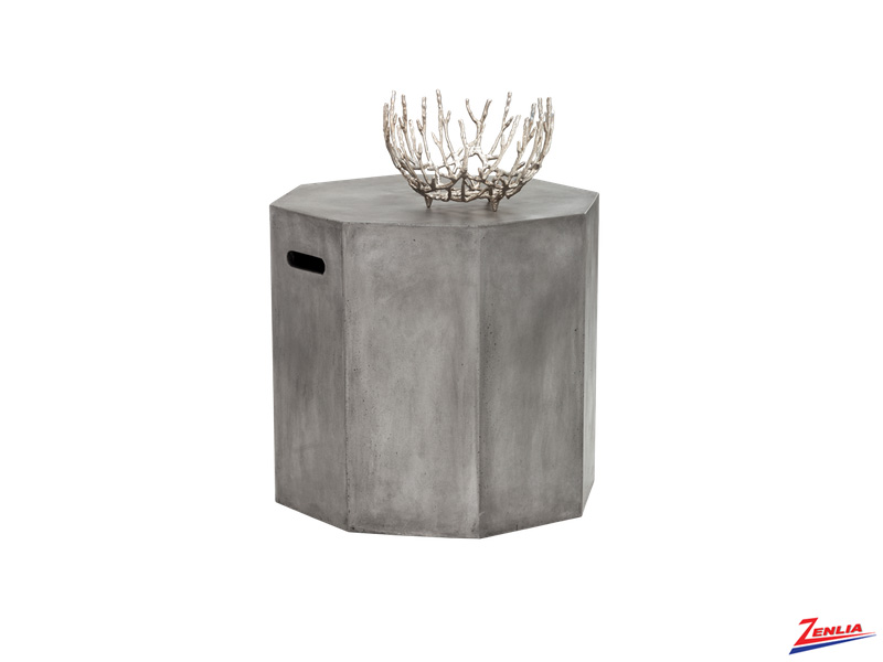 Oll Concrete End Table