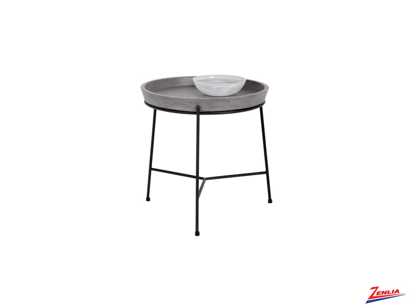 Rem Concrete End Table