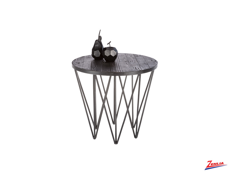 Ruff Wood End Table