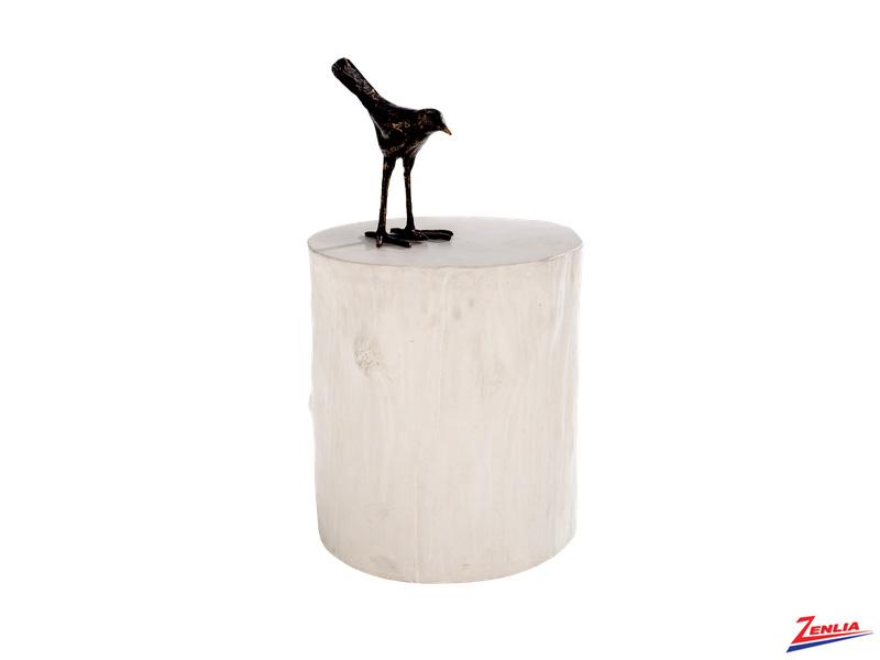 Tre Concrete End Table