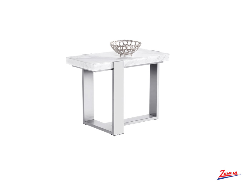 Tribe Marble End Table