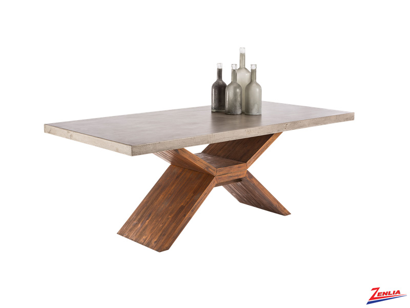 Vixe Concrete Dining Table