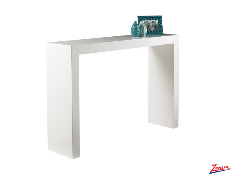 Arch Console Table White